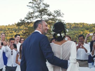 Nicholas & Stephanie, wedding in Spetses, Greece