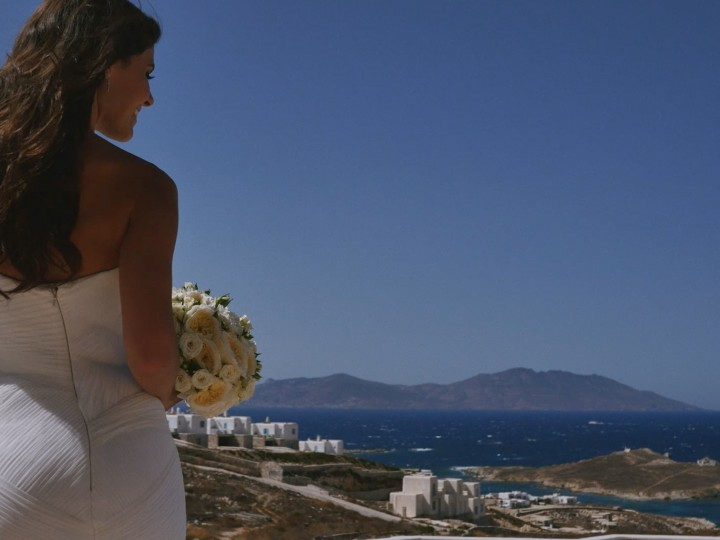 Katerina & Tommy, wedding in Mykonos Greece